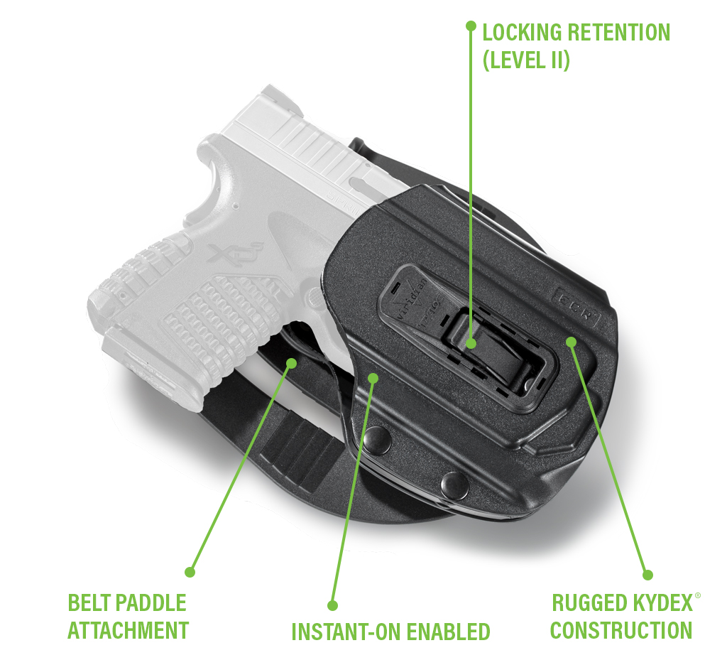 Auto Locking Gun Holsters | Concealed Carry Holsters