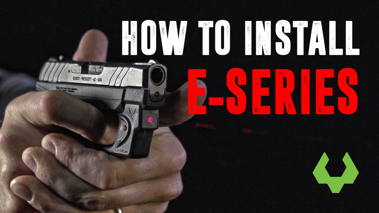 E-SERIES™ Red Laser Sight for Ruger Security 9 Full-Size and Compact