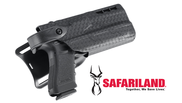 The FACT Duty fits all light bearing Safariland holsters.